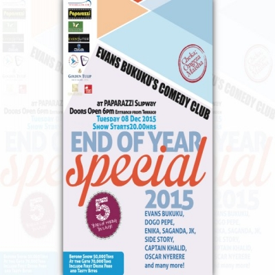 End of Year (Comedy) Special, 2015