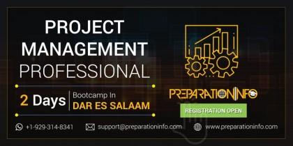 PMP Certification Classroom Training and Workshop in Dar Es Salaam 2 Days