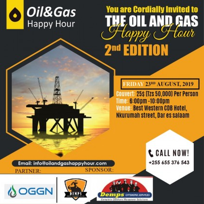 OIL AND GAS HAPPY HOUR- SECOND EDITION
