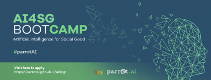 ARTIFICIAL  INTELLIGENCE FOR SOCIAL GOOD BOOTCAMP