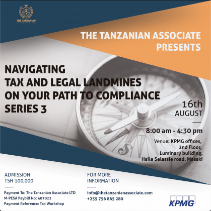 Navigating Tax & Legal Landmine on your path to Compliance Series 3