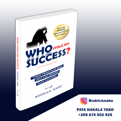 WHO STOLE MY SUCCESS - BOOK LAUNCH