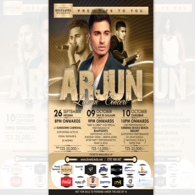 Meet and Greet UK's Pop/ Fusion and RNB singer- Arjun live in Dar