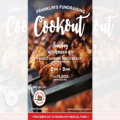 Franklin's Fundraising COOKOUT