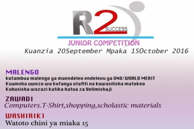 Road to Success Junior Competition